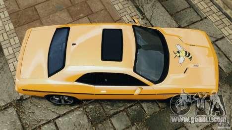 Dodge Challenger SRT8 392 2012 [EPM] for GTA 4 right view