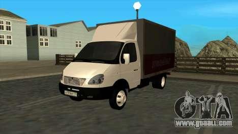 GAZ 3302 Gazelle for GTA San Andreas