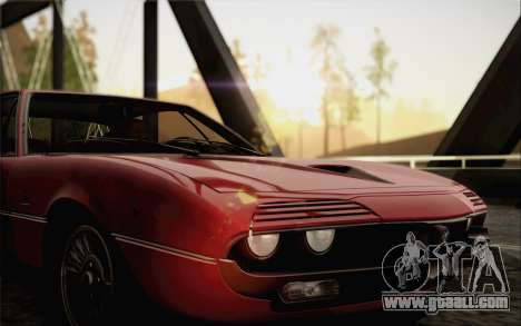 Alfa Romeo Montreal 1970 for GTA San Andreas right view