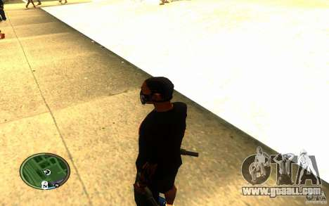 Skull Mask for GTA San Andreas forth screenshot
