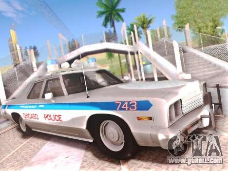 Dodge Monaco 1974 for GTA San Andreas interior