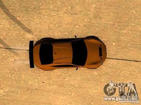 Toyota FT86 Rocket Bunny V2 for GTA San Andreas upper view
