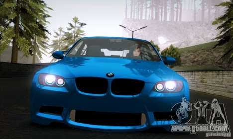 BMW M3 E90 for GTA San Andreas left view