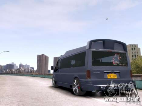 Ford Transit Sport Edition RV 2013 for GTA 4 right view