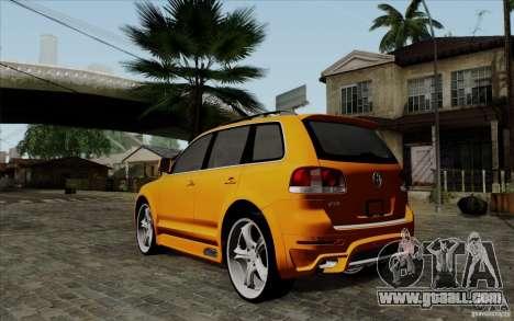 Volkswagen Touareg R50 Light for GTA San Andreas back left view