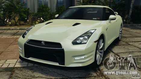 Nissan GT-R 2012 Black Edition for GTA 4
