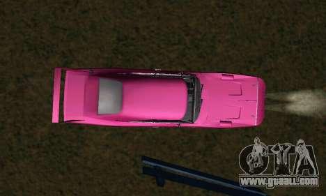 Dodge Charger Daytona SRT10 for GTA San Andreas upper view