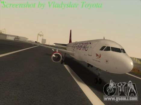 Airbus A320-211 Virgin Atlantic for GTA San Andreas