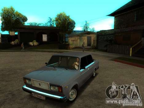 VAZ 2107 V2 for GTA San Andreas
