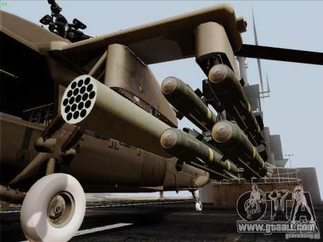 S-70 Battlehawk for GTA San Andreas right view