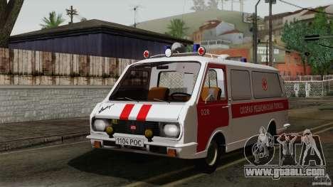 RAF 22031 Latvija ambulance for GTA San Andreas