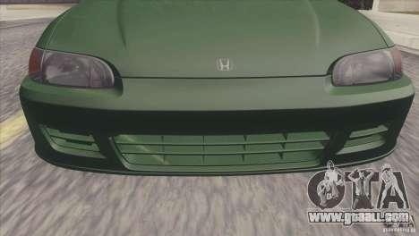 Honda Civic EG6 for GTA San Andreas right view