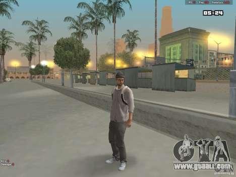 Skin Hipster v1.0 for GTA San Andreas third screenshot