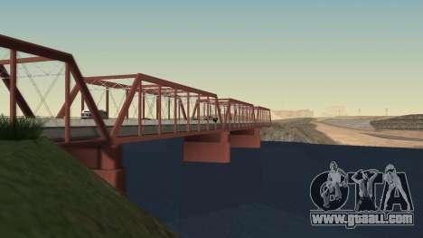The new bridge of LS-LV for GTA San Andreas