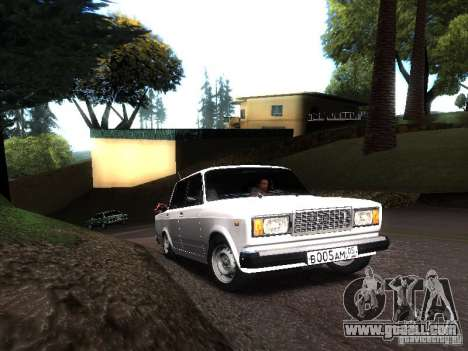 VAZ 2107 DAG for GTA San Andreas left view