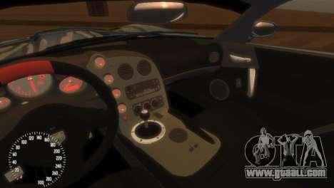 Dodge Viper SRT-10 Mopar Drift for GTA 4 inner view