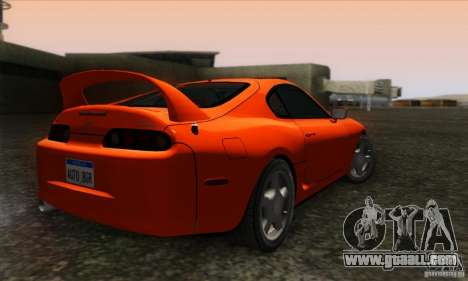 Toyota Supra Tunable for GTA San Andreas left view