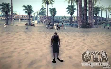 Scuba Tank for GTA San Andreas third screenshot