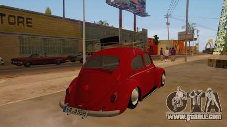 VW Beetle 1966 for GTA San Andreas right view