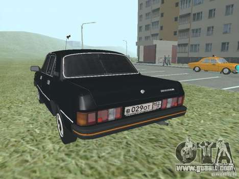 Volga GAZ 31029 for GTA San Andreas back left view