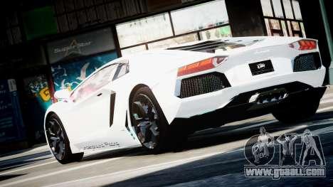 Lamborghini Aventador LP700-4 Twin Turbo UGR for GTA 4 left view