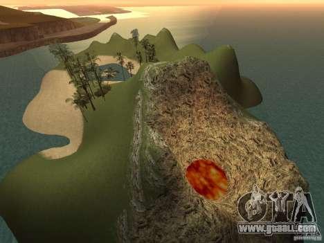 Volcano for GTA San Andreas third screenshot