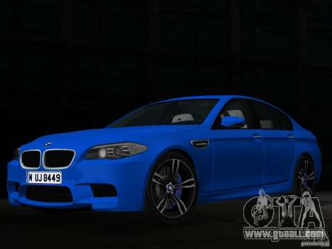 BMW M5 F10 2012 for GTA Vice City