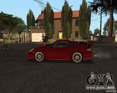 Porsche 911 GT3 RS for GTA San Andreas bottom view