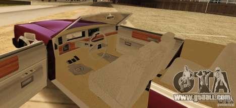 Feltzer HD v2 for GTA San Andreas back left view