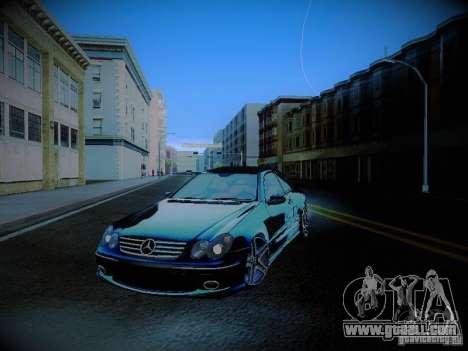 Mercedes-Benz CLK 55 AMG Coupe for GTA San Andreas