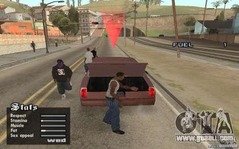 Trunk Hide for GTA San Andreas