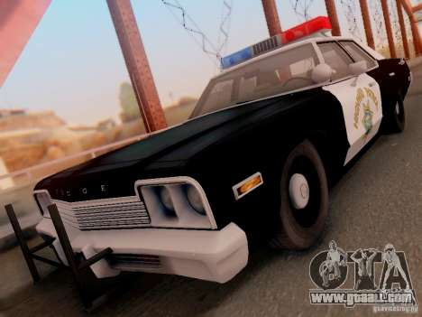 Dodge Monaco 1974 California Highway Patrol for GTA San Andreas