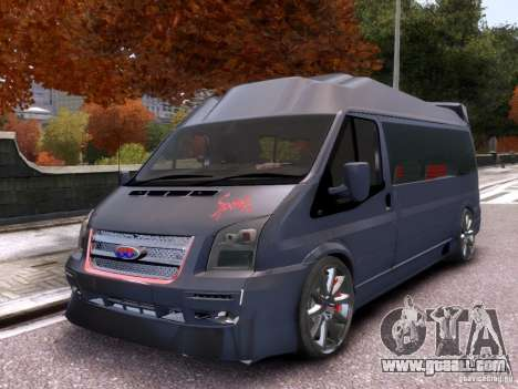 Ford Transit Sport Edition RV 2013 for GTA 4