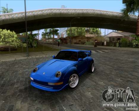 Porsche 911 GT2 RWB Dubai SIG EDTN 1995 for GTA San Andreas upper view