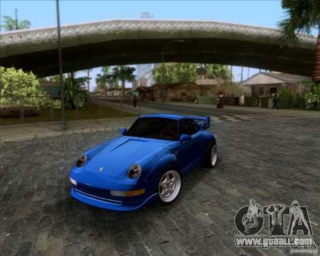 Porsche 911 GT2 RWB Dubai SIG EDTN 1995 for GTA San Andreas upper view