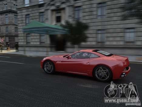 Ferrari California 2009 for GTA 4 inner view