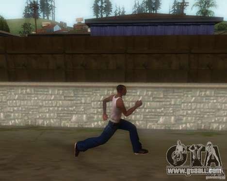 GTA IV Animations v1.1 for GTA San Andreas