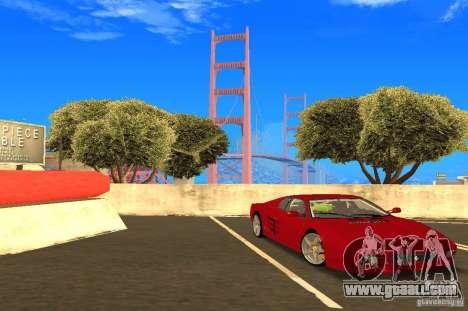 Ferrari 512TR for GTA San Andreas right view