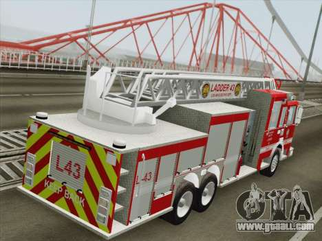 Pierce Arrow LAFD Ladder 43 for GTA San Andreas wheels