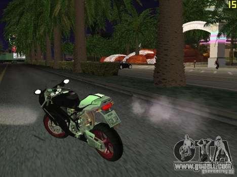 Ducati 999R for GTA San Andreas back left view
