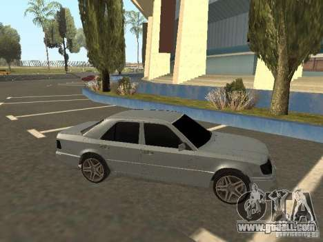 Mercedes-Benz E420 AMG for GTA San Andreas left view
