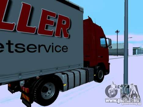 Volvo FH13 for GTA San Andreas back left view