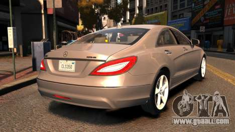 Mercedes-Benz DK CLS350 for GTA 4