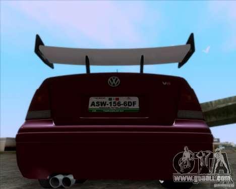 Volkswagen Jetta 2005 for GTA San Andreas right view