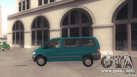 Mercedes-Benz Vito 112 for GTA San Andreas