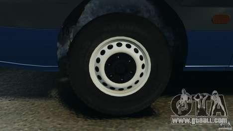Mercedes-Benz Sprinter G4S ES Cash Transporter for GTA 4 upper view