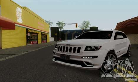 Jeep Grand Cherokee SRT-8 2013 for GTA San Andreas