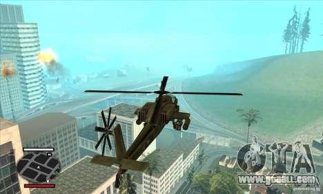 HUD for SAMP for GTA San Andreas