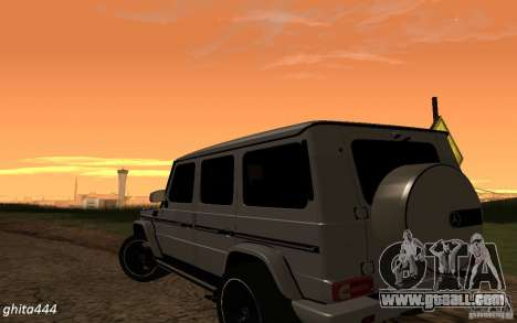 Mercedes Benz G65 AMG for GTA San Andreas left view