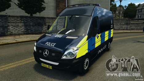 Mercedes-Benz Sprinter Police [ELS] for GTA 4